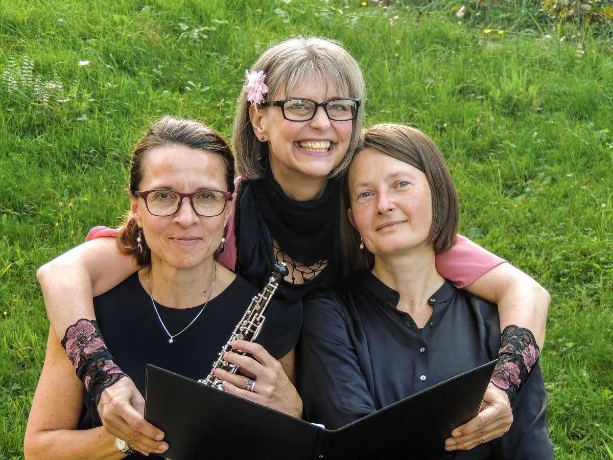 Corinne Sonderegger, Andrea Jost, Oleksandra Kopan